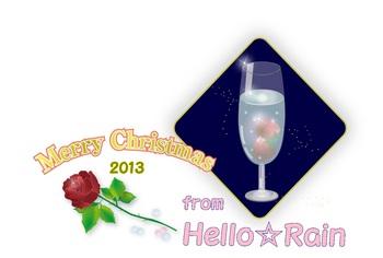クリスマスカード from Hello☆Rain.jpg